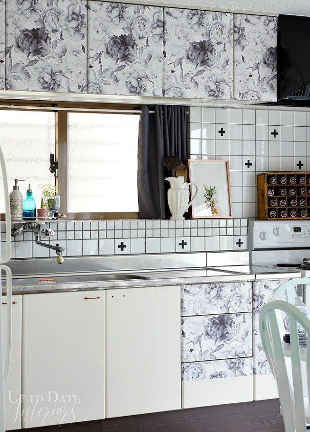 Renter Friendly Cabinet Makeover | Hometalk