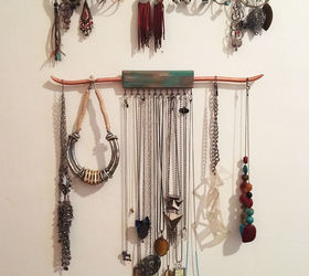 Jewelry Hanger Part - 23: Rustic Wood And Copper Jewelry Hanger, Crafts, Home Decor, How To,  Organizing
