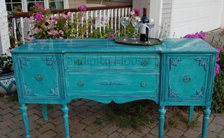 narcissus buffet with unicorn spit, painted furniture, Narcissus Buffet