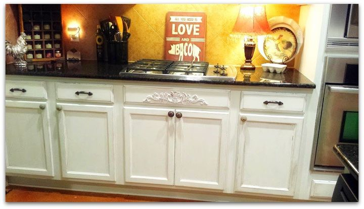 antiqued kitchen cabinets, kitchen cabinets, kitchen design, painting - Antiqued Kitchen Cabinets Hometalk
