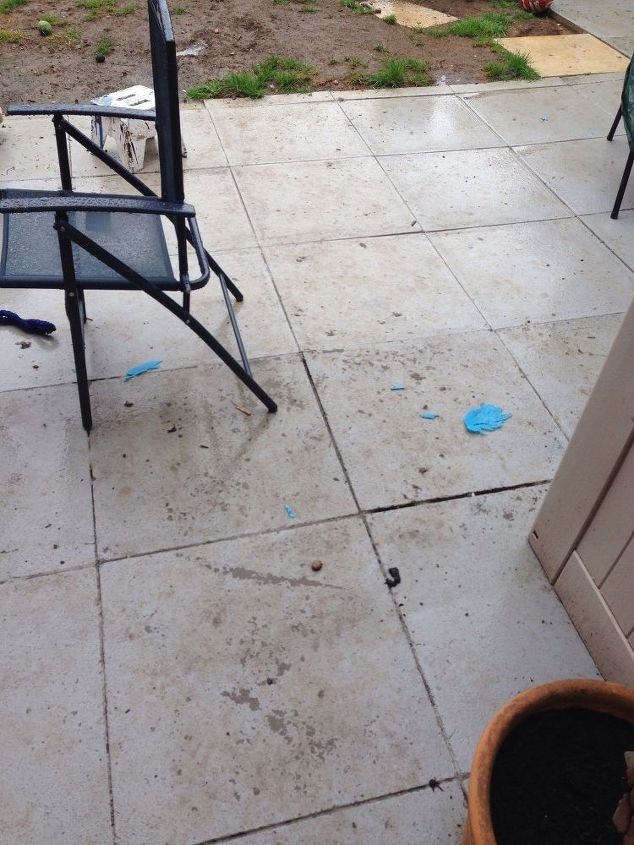 what paint can i use on patio paving slabs hometalk