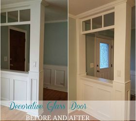 how to make your own decorative glass front door diy doors how to & How to Make Your Own Decorative Glass Front Door | Hometalk
