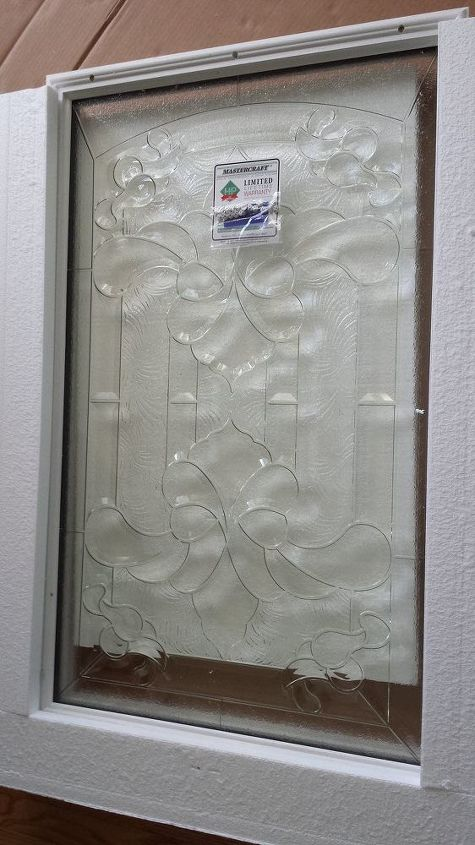 how to make your own decorative glass front door, diy, doors, how to