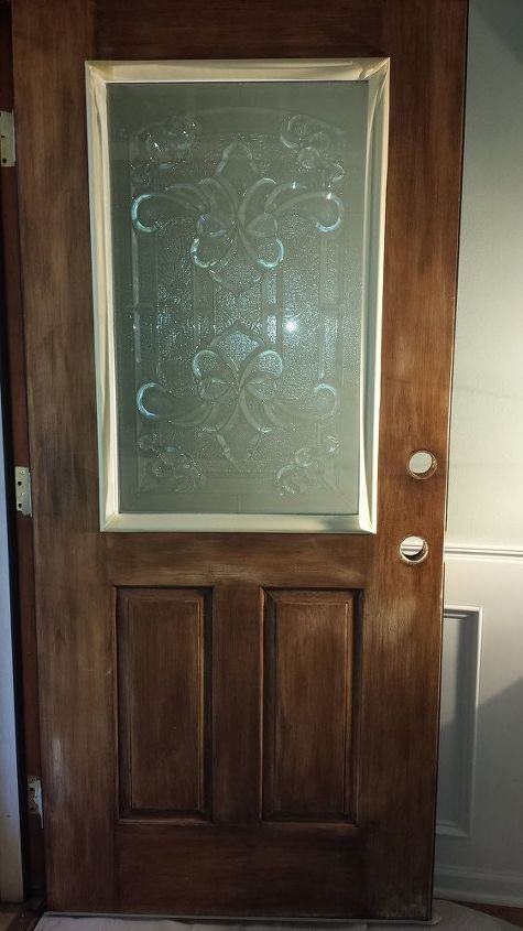 How To Make Your Own Decorative Glass Front Door Hometalk
