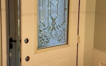 How to Make Your Own Decorative Glass Front Door
