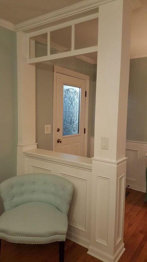 how to make your own decorative glass front door, diy, doors, how to