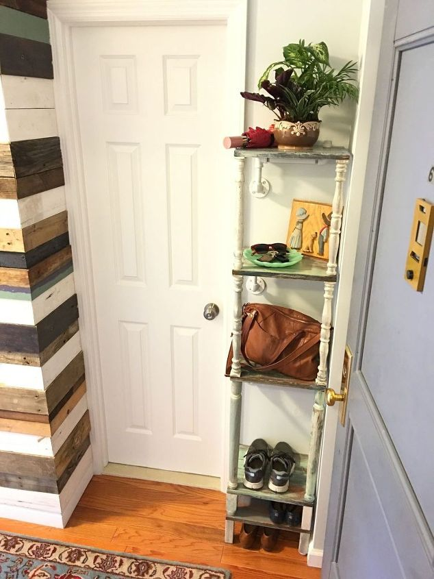 Organize Your Entryway in A Day with A Corner Unit | Hometalk
