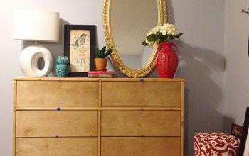 DIY Mid Century Dresser