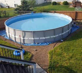 Making An Outdoor Oasis Around Your Intex Pool, Landscape, Outdoor Living,  Pool Designs