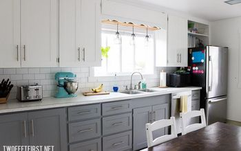Painted Kitchen Backsplash - ONE Year Later