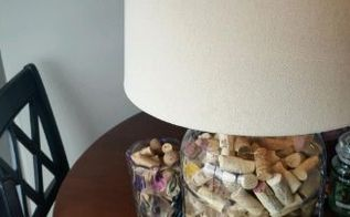 what to do with your corks how about make a cork lamp , crafts, lighting