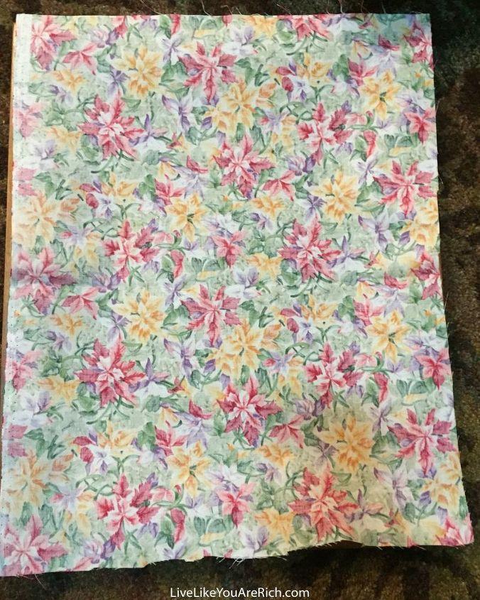DIY Fabric Wall Art | Hometalk
