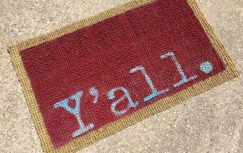 Make Guests Smile With This CUTE Welcome Doormat
