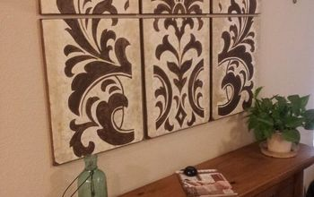 diy wall art knock off for 35, wall decor