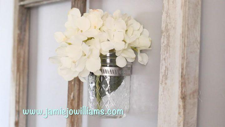 diy mason jar decor, diy, home decor, mason jars