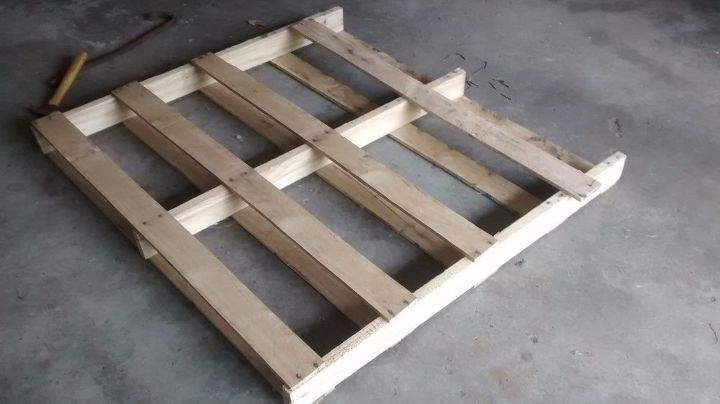 Pallet Wood Wall Clock Hometalk