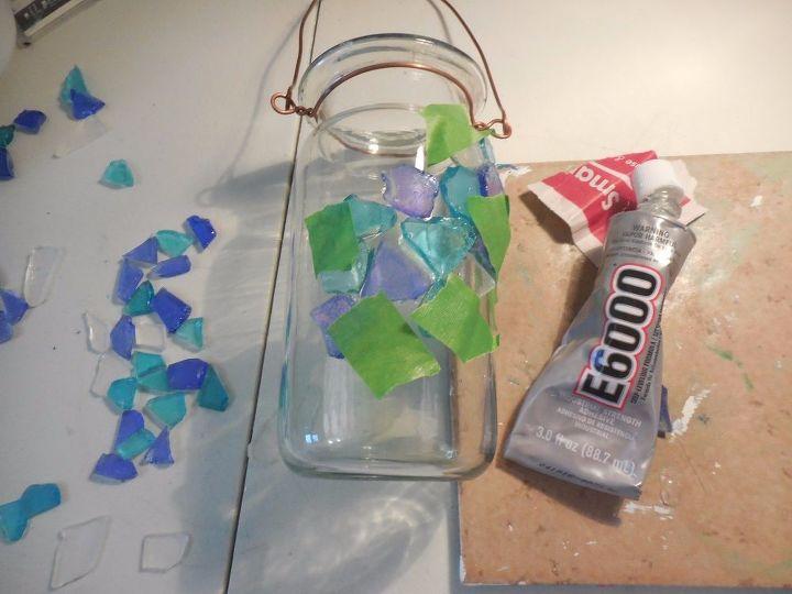 solar lantern, crafts