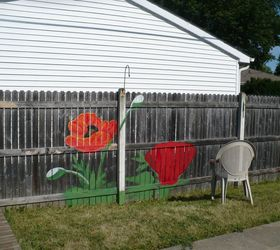 Merveilleux Backyard Fence Art, Fences, Painting