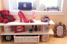 create shelves using boards and cups and tins oh my , repurposing upcycling, shelving ideas