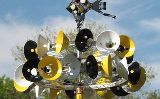 the whirligig project, crafts, outdoor furniture, repurposing upcycling