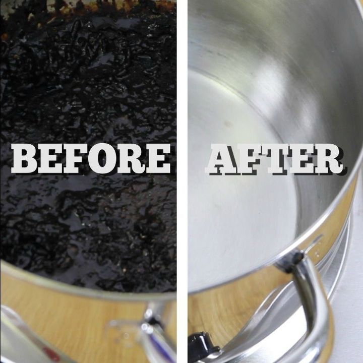 The Easiest Way To Clean A Burnt Pot Or Pan Hometalk