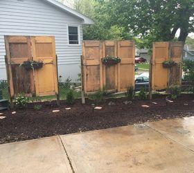 Old Doors Give New Life To Backyard Hometalk
