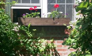 a dyi window box with a patriotic feel, container gardening, gardening, patriotic decor ideas, It s done Love color punch it brings in