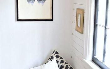 diy minimal canvas art, crafts, wall decor
