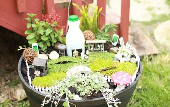 diy gnome garden, gardening