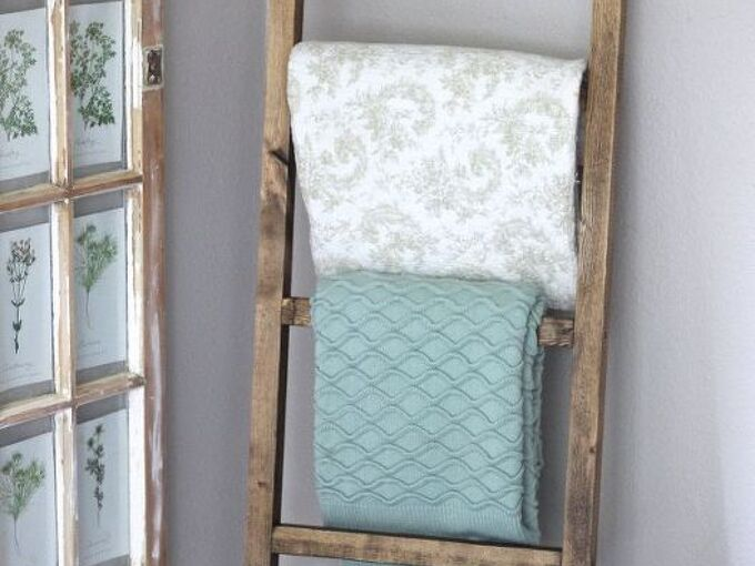 make a rustic ladder for 7 dollars , how to, rustic furniture, woodworking projects