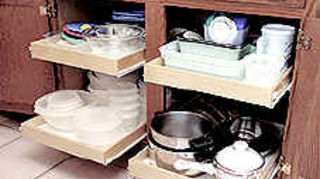 , I ve had 18 back surgeries and I can t get on the floor and dig for pots and pans Plus it keeps things so much more organized All I typed in was cabinet pullout cabinet pullout hardware