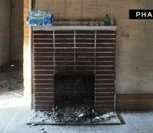 q fireplace makeover need ideas, concrete masonry, fireplace cleaning, fireplace makeovers, fireplaces mantels, painting