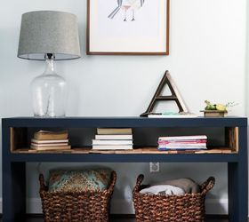 ... Easy Ikea Lack Sofa Table Chalk Paint Diy Home Decor Living ...