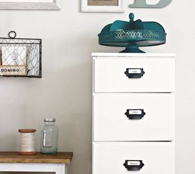 Diy Antique Wood Filing Cabinet, Painted Furniture