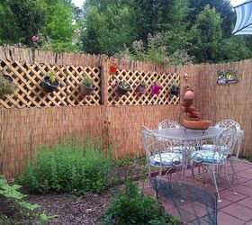 Nice Patio Fence Coverup, Fences, Patio