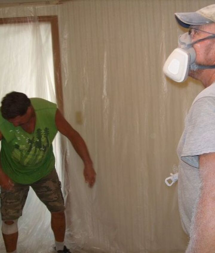 how to paint popcorn ceilings, diy, how to, painting, wall decor