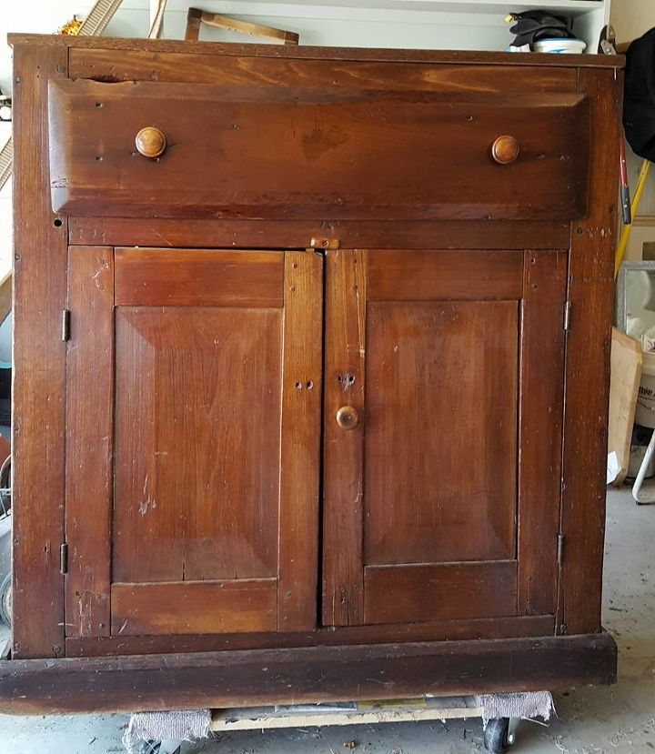Look What I Made With This Old Cabinet Kitchen Cabinets Design Painted