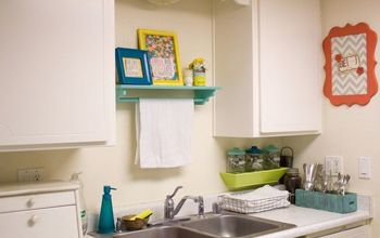 Colorful Galley Kitchen