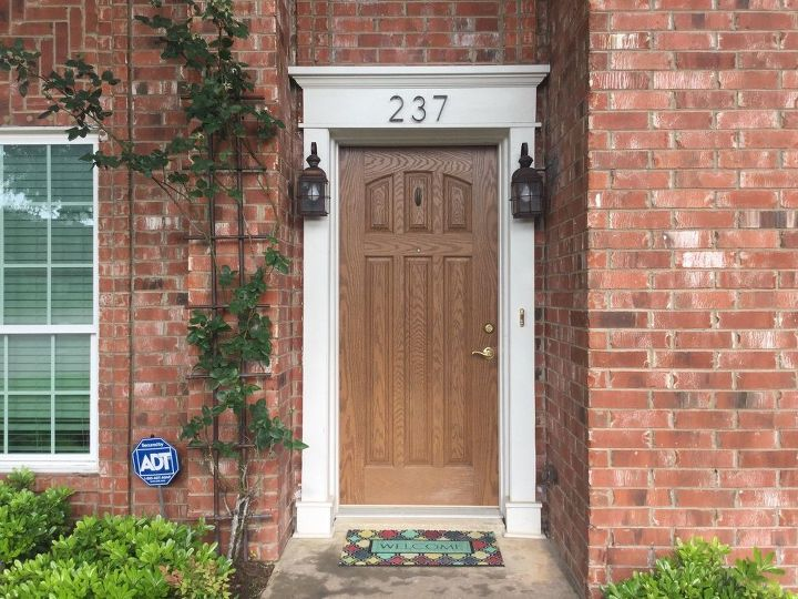 Sheen for front doors | Hometalk