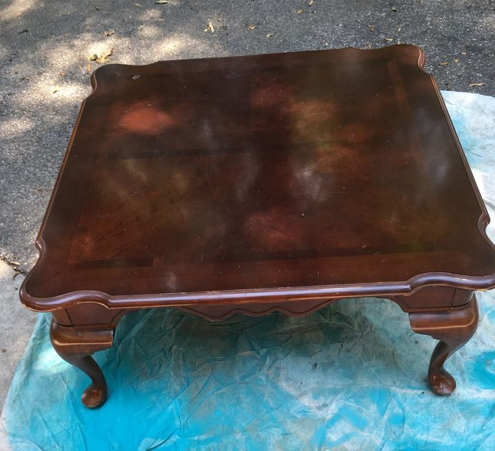 new idea for a coffee table, painted furniture, reupholster