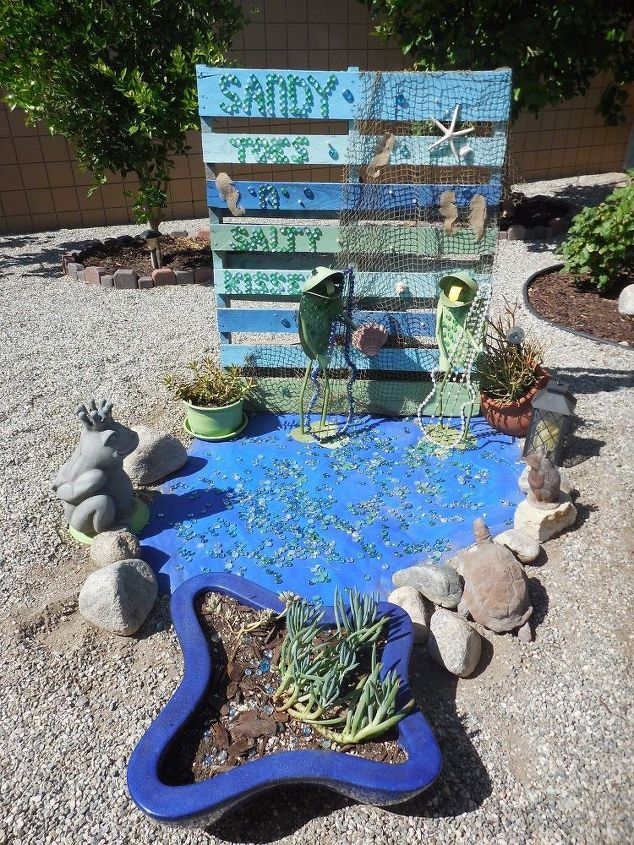 frogs pond update, outdoor living, ponds water features