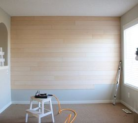 Charming Shiplap Wall, Diy, Wall Decor, Woodworking Projects, Making Our Way Down The