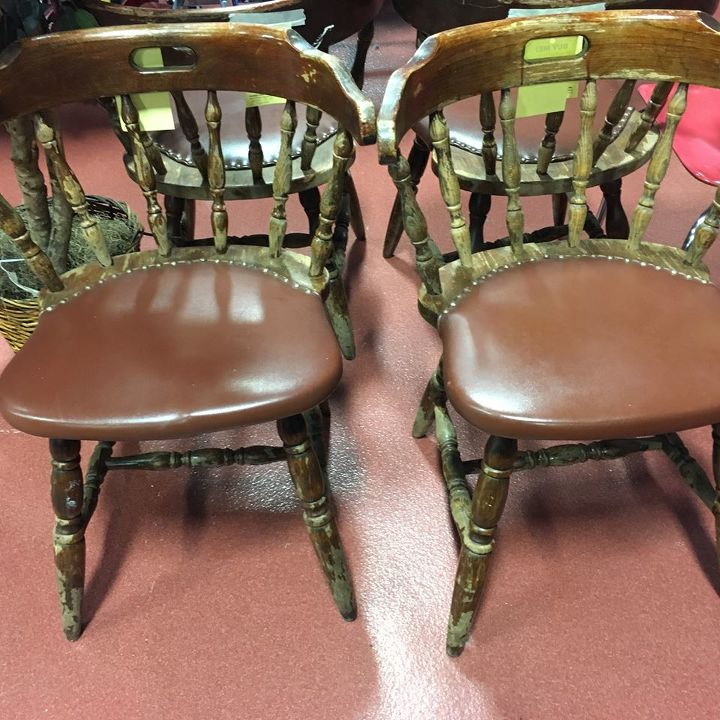 modern upholstered dinette chairs, painted furniture, reupholster