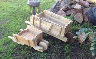 rustic birdboxes planters made from pallets, gardening, outdoor furniture, pallet