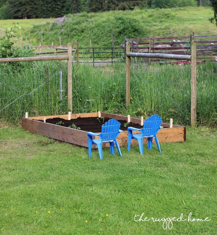 s 13 easiest ways to build a raised vegetable bed in your garden, gardening, Put one together in 15 minutes with 4 boards