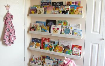 DIY Bookcase Ledges for Our Nursery