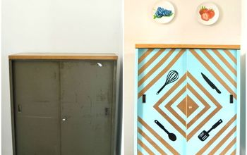Kitchen Storage Cabinet Makeover