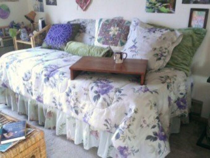 from twin bed to day bed in just 2 hours , bedroom ideas