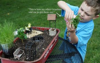 mr elfsnail s garden, crafts, gardening, outdoor living