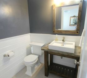 Diy Pottery Barn Vanity, Bathroom Ideas, Diy, Small Bathroom Ideas,  Woodworking Projects